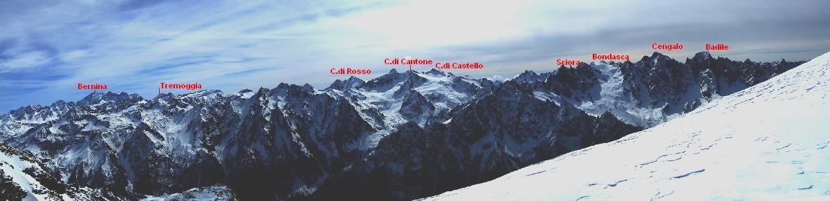 Dalla Val Bondasca al Bernina