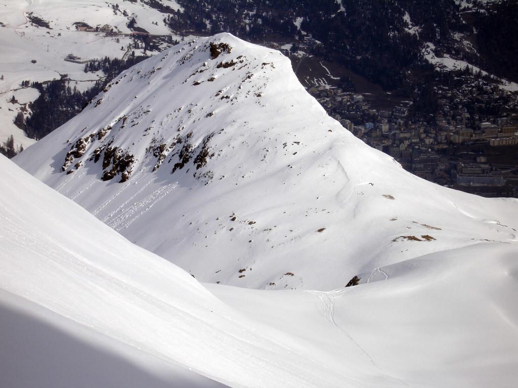 Il Piz da  l'Ova Cotschna 2716 m.