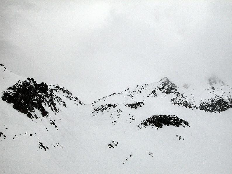 Piz Lucendro: verso la bocchetta 2800 m