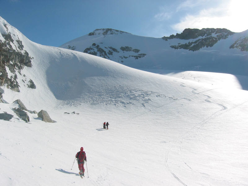 Salendo al Mont Durand oltrepassato l'omonimo colle.