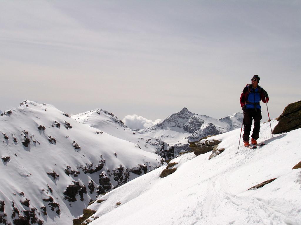 Gianluca sulla Cima del Baldiscio 2851 m.
