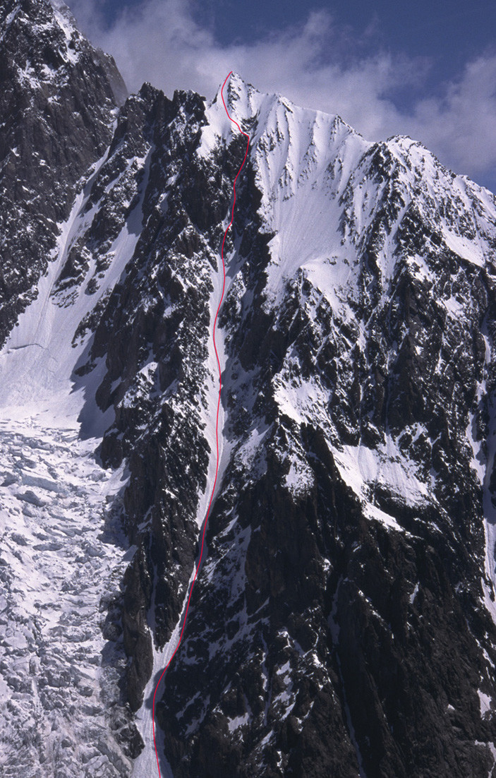 Pointe Baretti, couloir SW