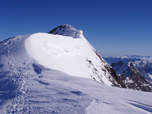 corniche sommitale du Campbieil 3174 m