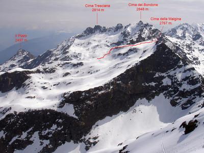 Lklzzwxh:0012ultimo tratto alla Cima della Malgina 2767 m.