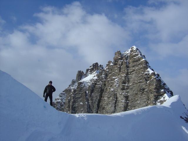 Arrivée au col du Steibode peu avant le sommet du Klein Gsür