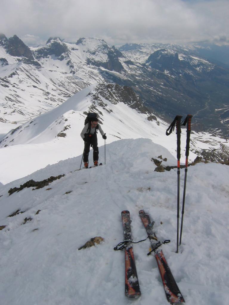 Laurent au sommet (ou presque)