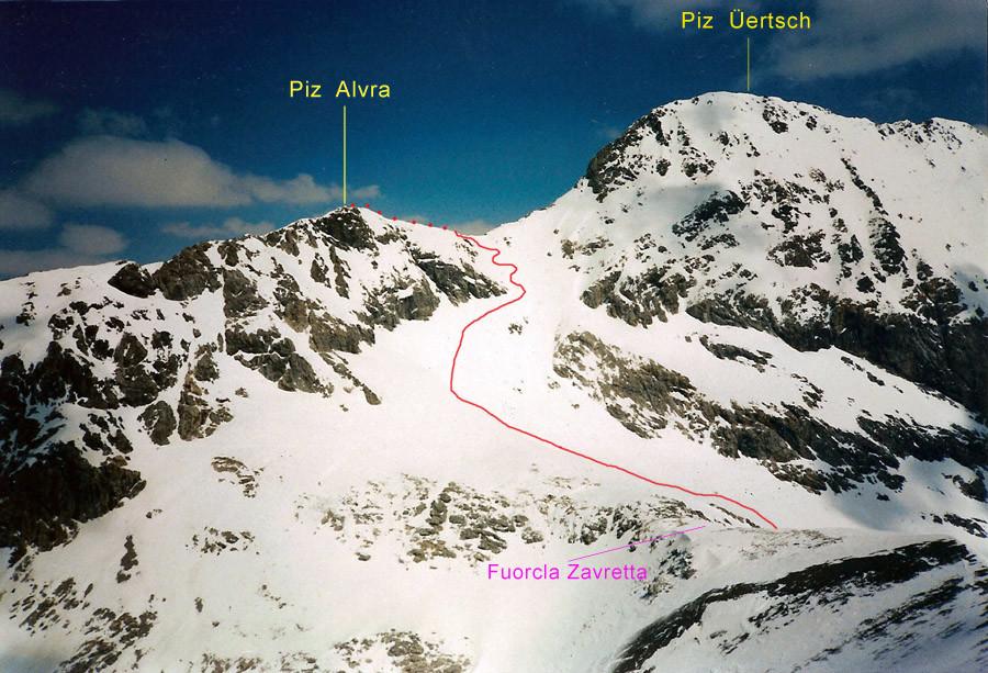 Piz Alvra 3117 m