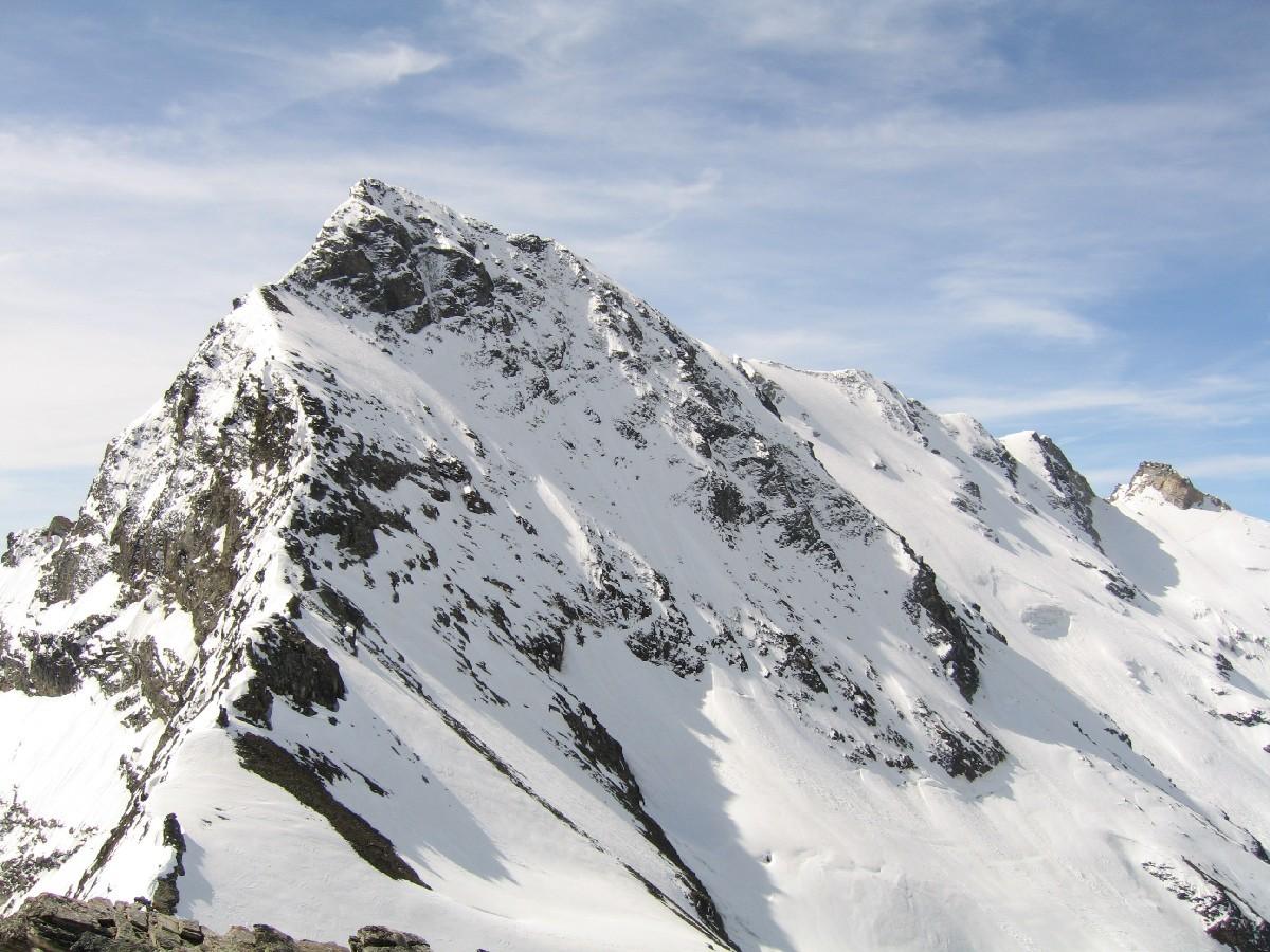 La Grande Rousse sembra a due passi dalla Punta di Rabuigne