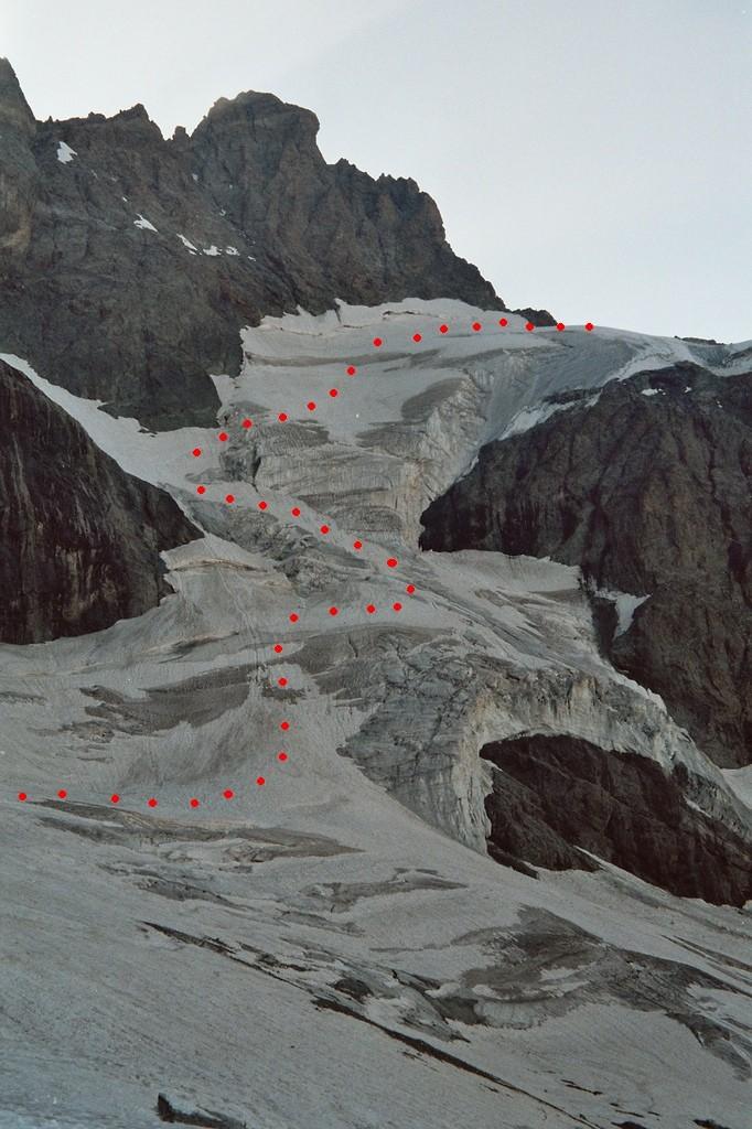 Versant W du Col du Pavé
