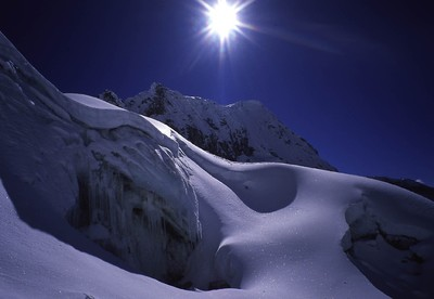 Glacier du Pisco (Cordillère Blanche)