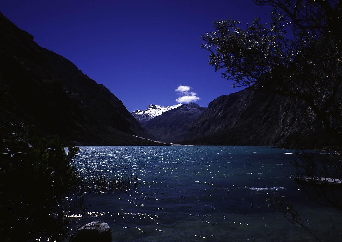 Laguna de Llanganuco (3900m)