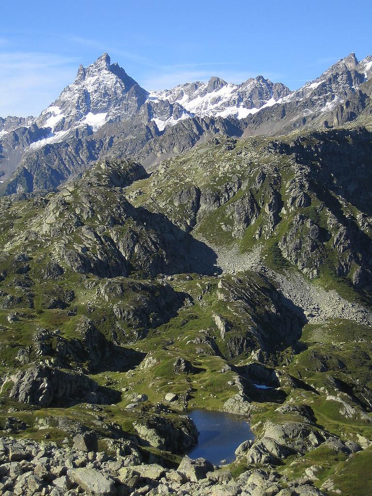 Grand Pic de Belledonne et Pas de la Coche