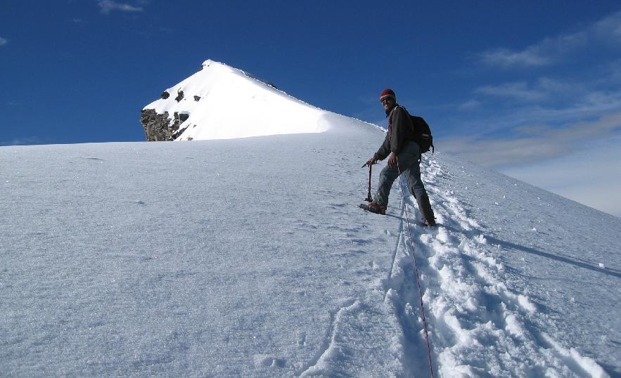 Dorje, mon compagnon ladakhi, en progression vers antécime