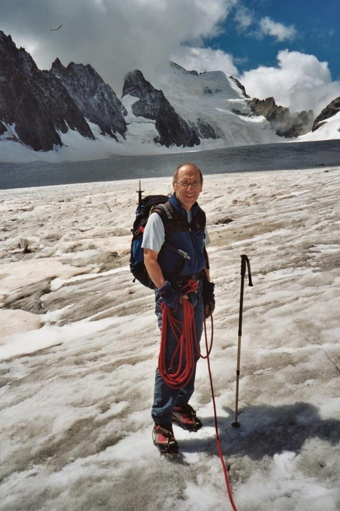 François au Glacier Blanc