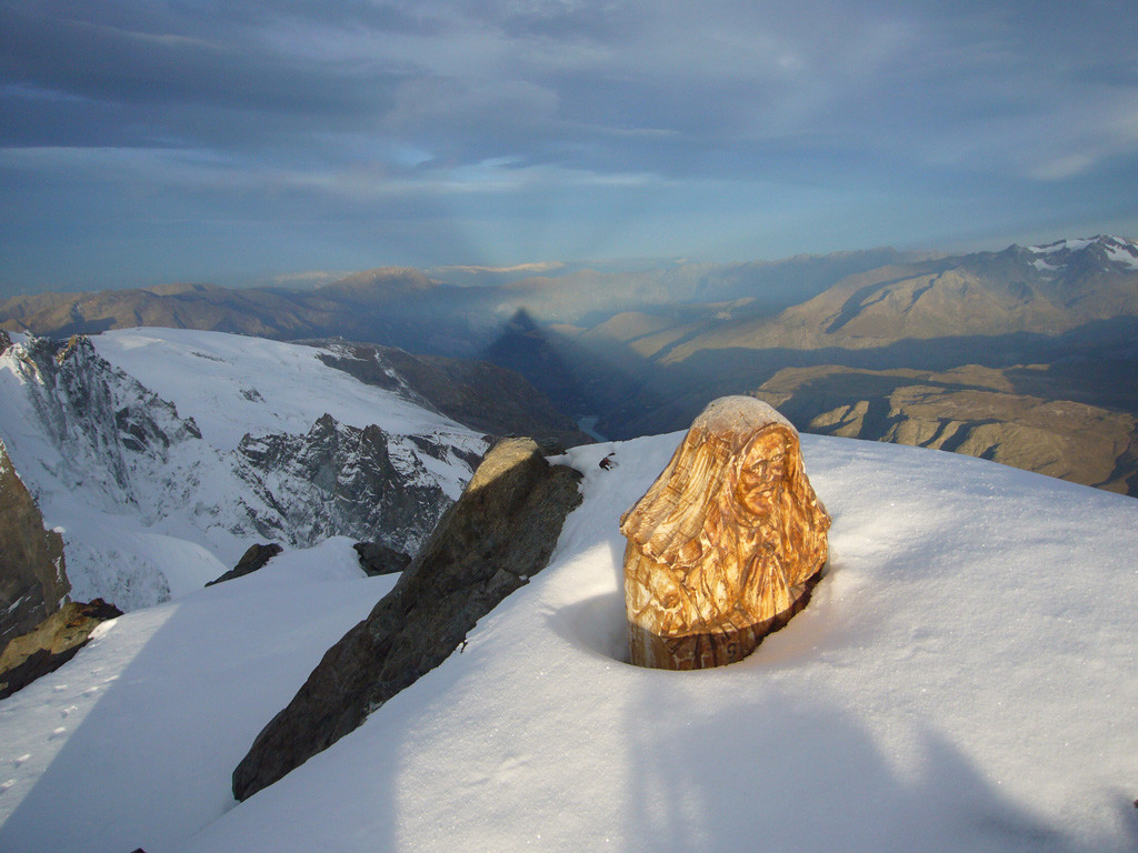 Bivouac - Grand Pic de la Meije - petit matin - vu Ouest