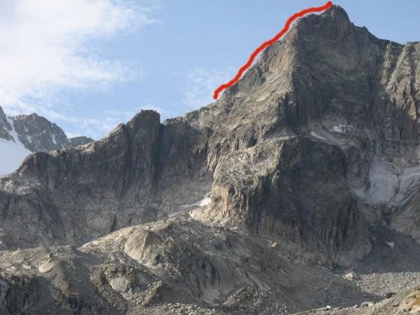 Arête sud Gletschhorn