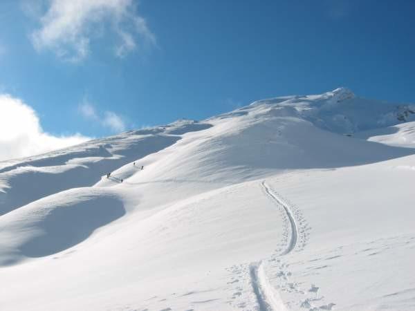 Ultimi 400 m. verso la cima dello Schiahorn