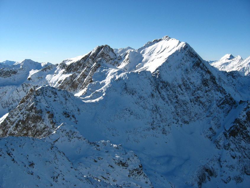 Le Hourgade vu du sommet de l'Espingo