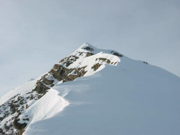 Cresta est e cima del Wittenberghorn