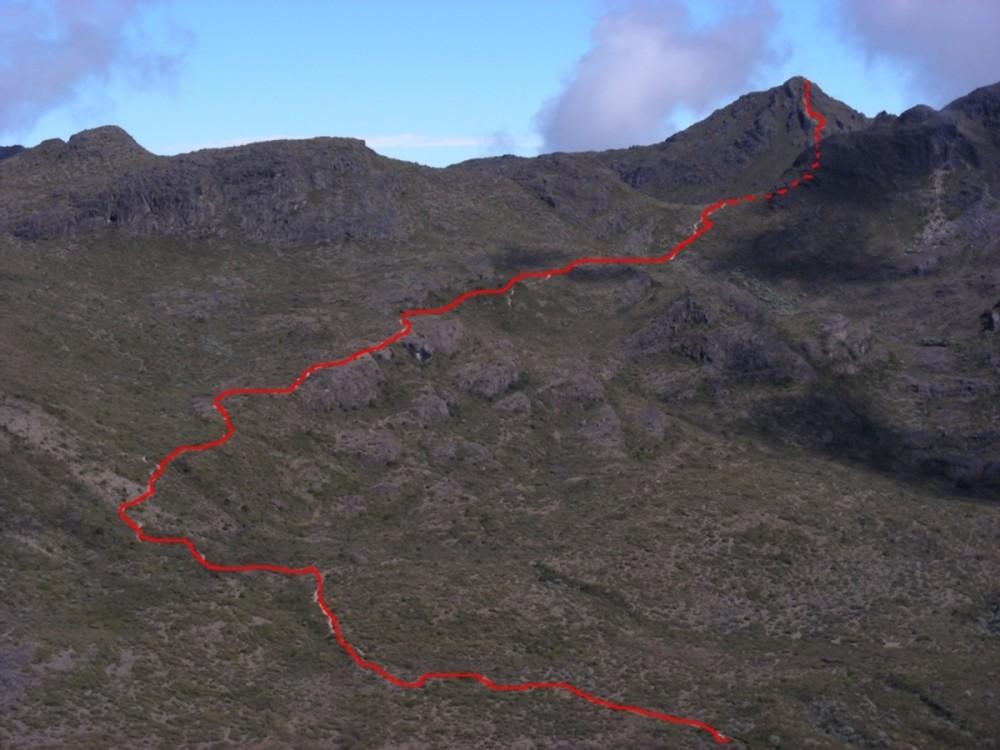 Cerro Chirripo (voie normale depuis Base Crestones)