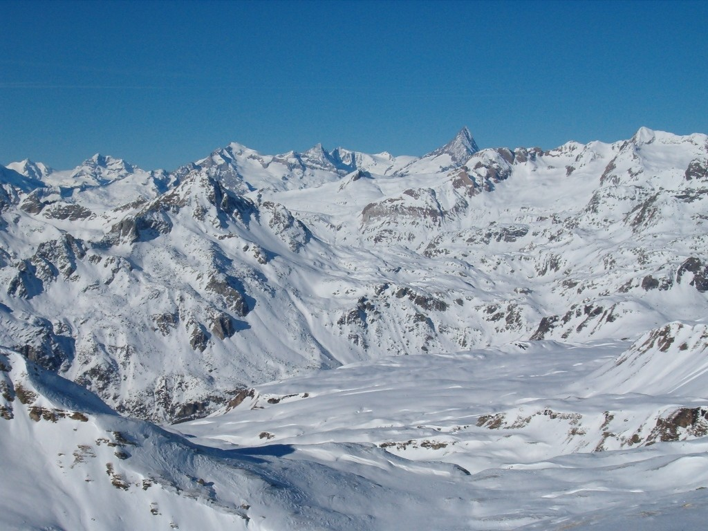Vista verso l'Oberland