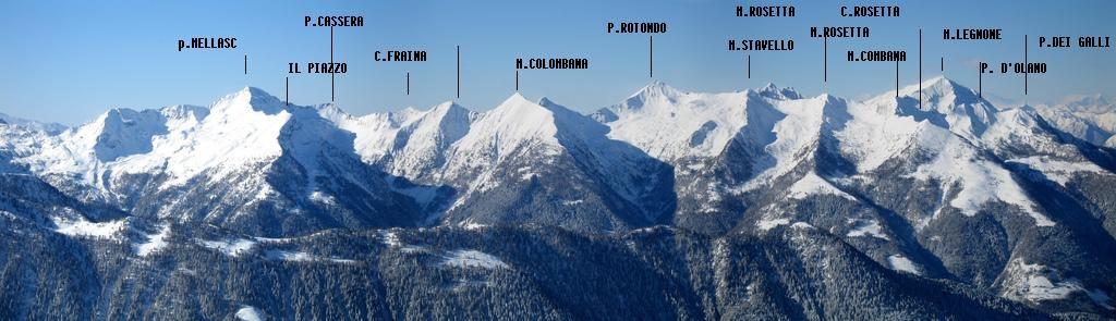 Quasi tutte le cime sciistiche della Valgerola + il Legnone dal Monte Lago