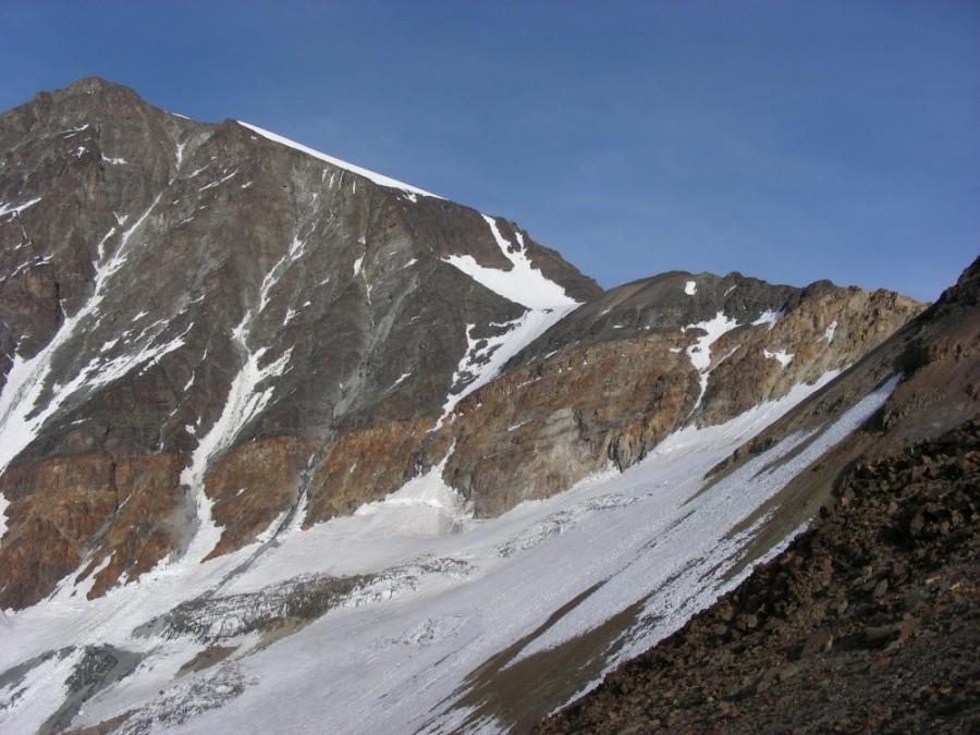 Le couloir du Cerro Rincon