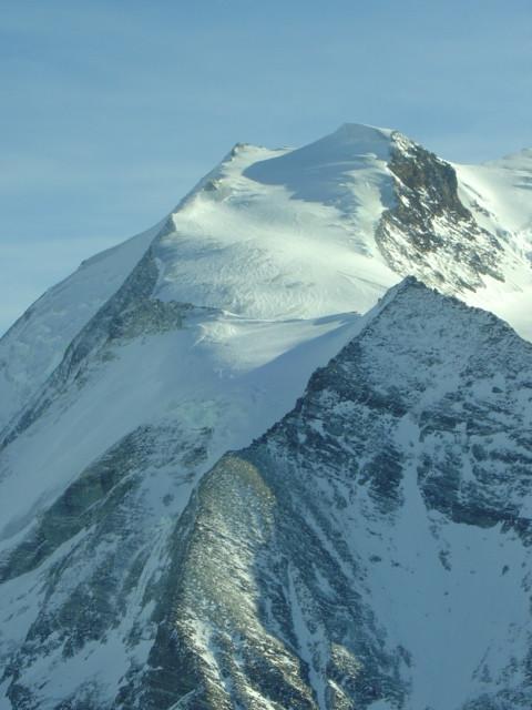 Le Bishorn, vu du sommet du Wängerhorn
