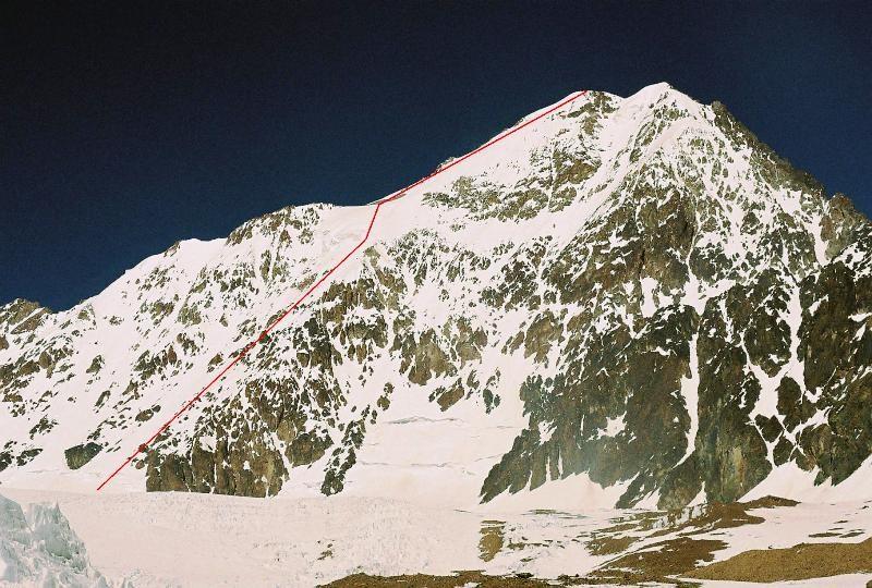 Pico Polaco (6020 m), 1re française, Henry Bizot et Matias Erroz