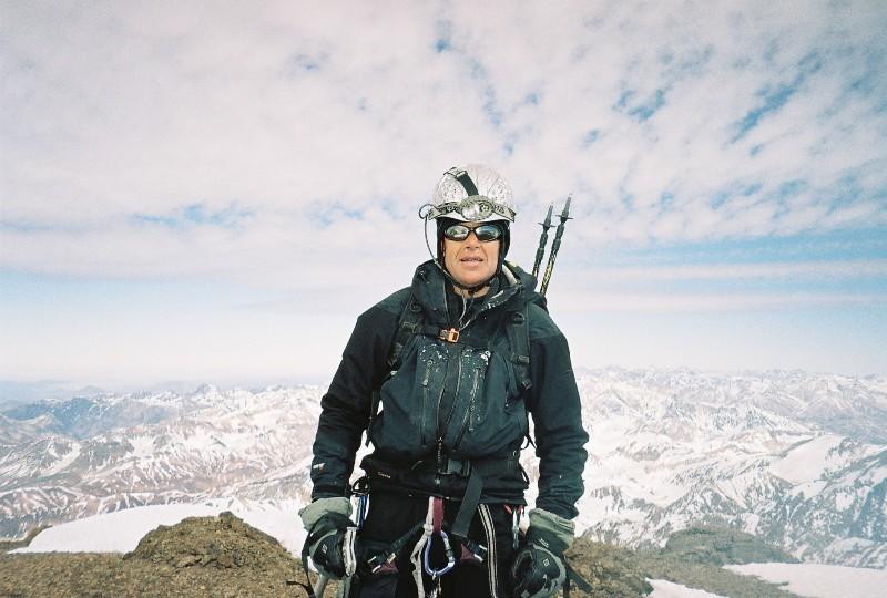 Sommet du Pico Polaco (6020 m), Henry Bizot