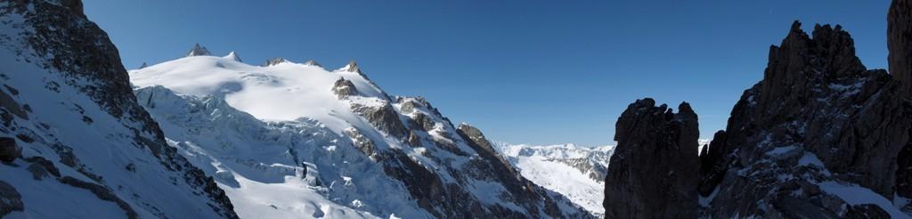 Panorama du col des Ecandies