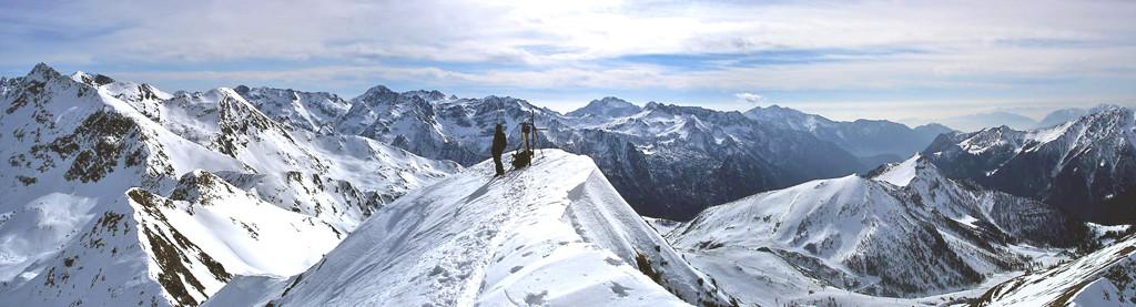 panorama dal Monte Toro
