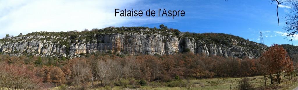 falaise de l'Aspre