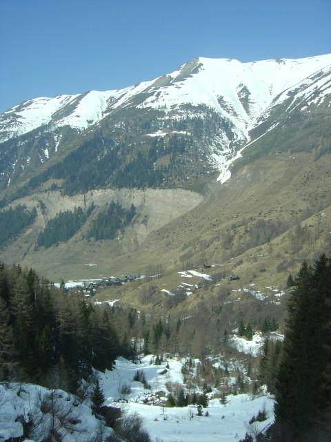 Le hameau de Fäld dans le Binntal