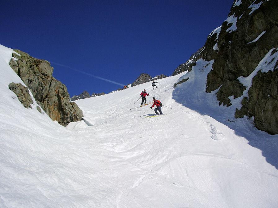 Krönten : traversata Erstfeldertal - Meiental concatenando la Zwächten m 3080