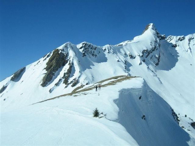 Roc d'Enfer sommet 2188 m. depuis le Ratti
