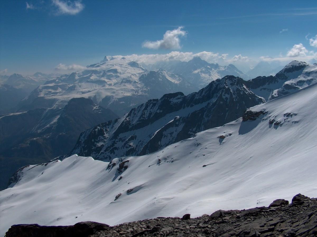 Du Grand Renaud vers la Calotte de Mont de Lans et environs.