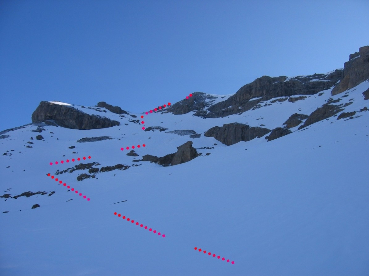 Aiguille occidentale de la Saussaz