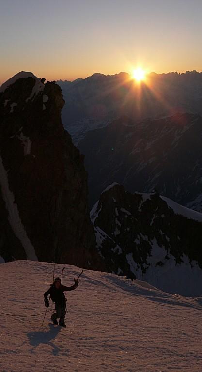 Glacier du Mt Dolent