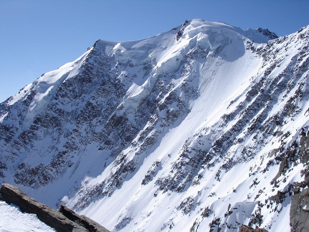 Parete Nord del Fletschhorn dalla cima della Senggchuppa 3607 m.