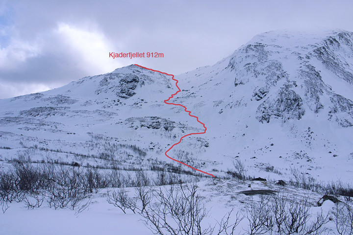 Kjaderfjellet (912 m)