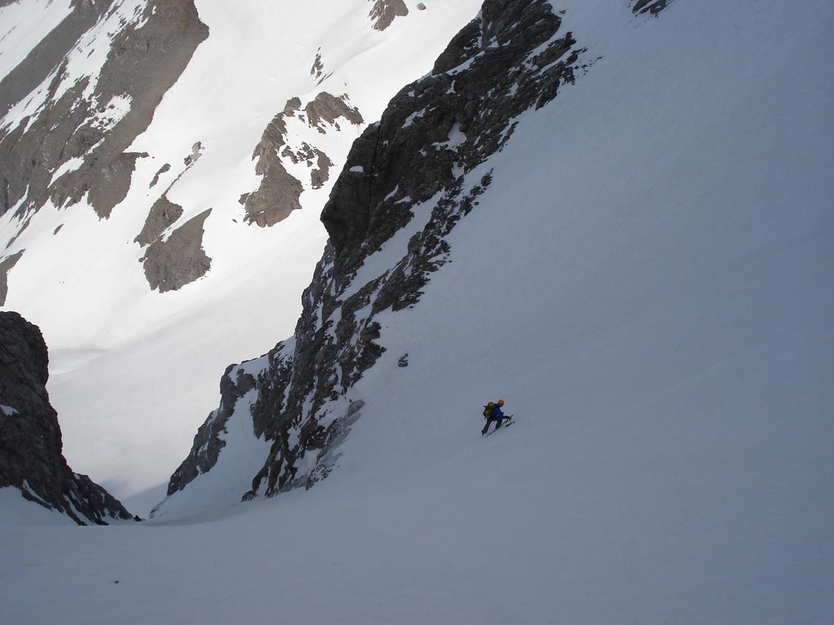 glacier suspendu de Chalin