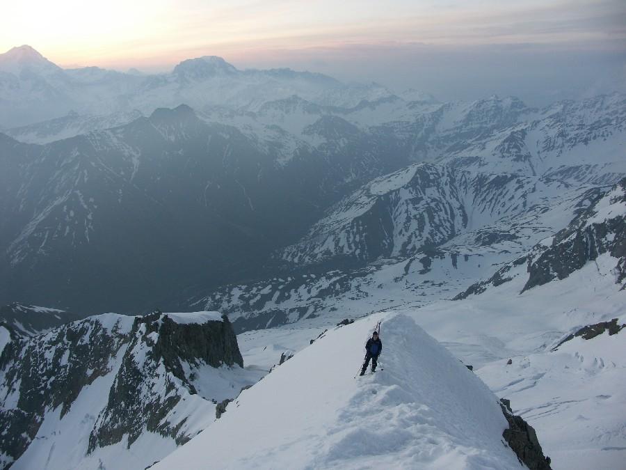 Mont Dolent, arête Gallet