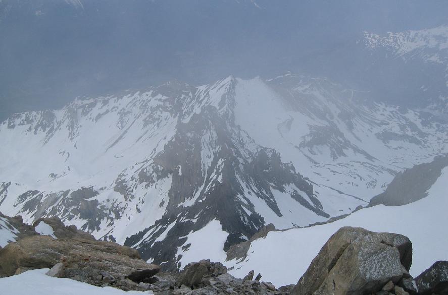 Glacier de la Chaise du Pape - brêche de la Loza