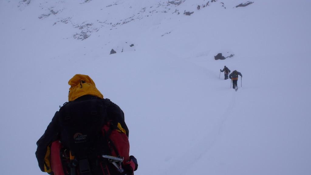 fuite du refuge d'Aosta