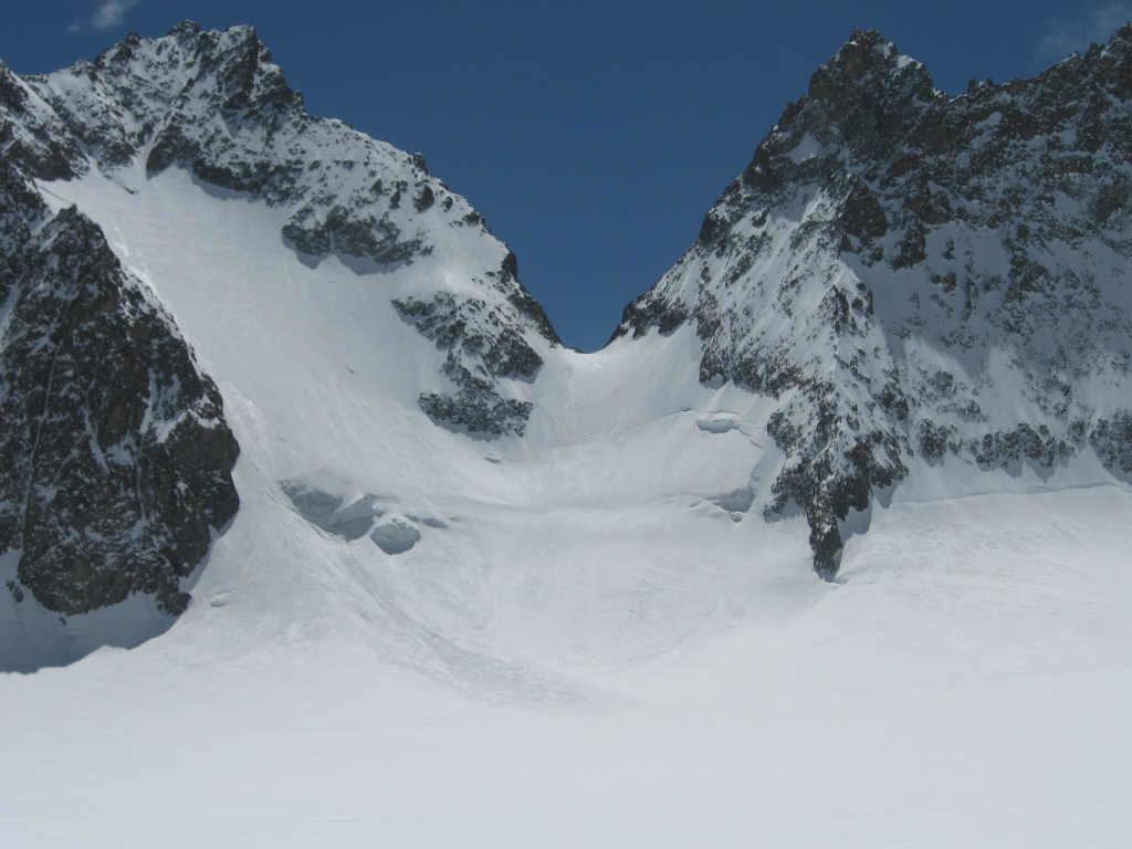 Face Nord du Col de la Grande Sagne