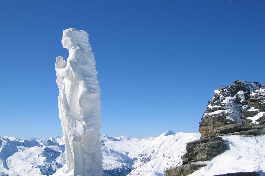 Tête du Ruitor (3497m )& la St Vierge
