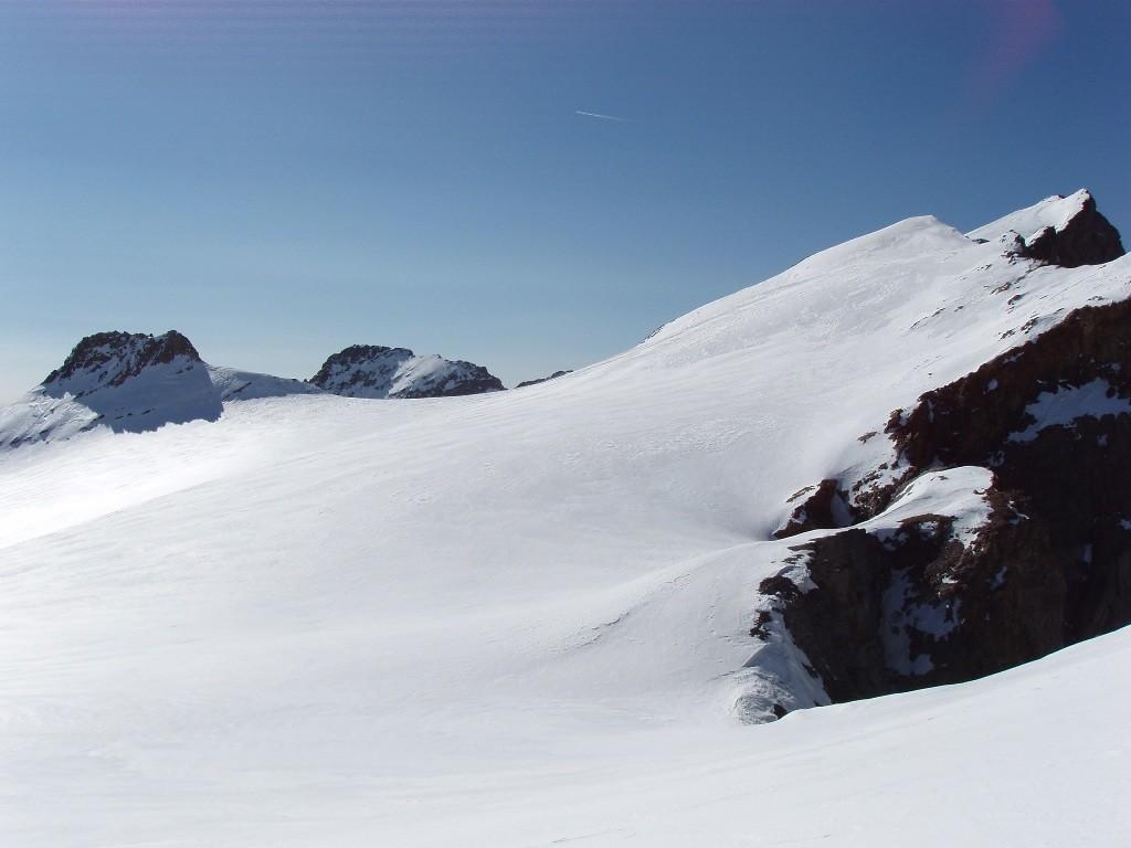 Haut du Glacier du Séguret Foran