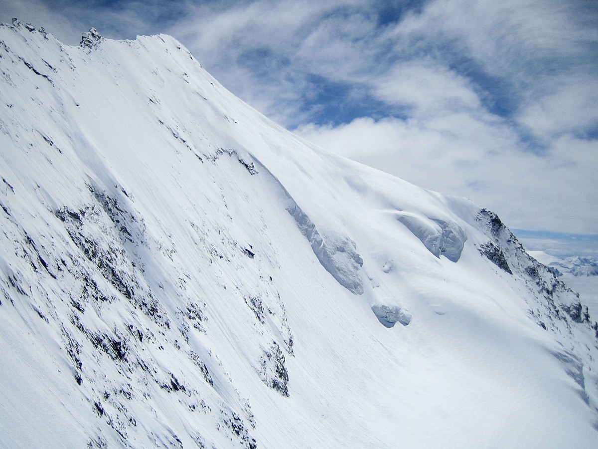 Mont Pourri : versant W