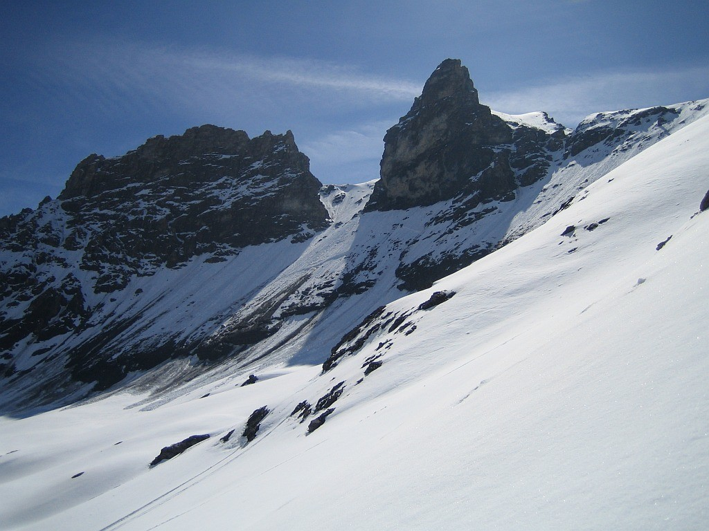 Grand Roc Noir : Couloir NW